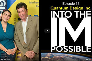 Quantum Design Guests on Arthur C. Clarke Center for Human Imagination Into the Impossible Podcast