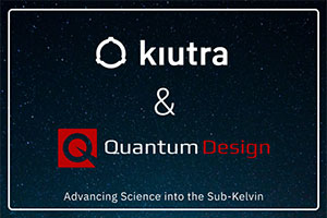 Quantum Design and Kiutra Announce Distribution Agreement for North America