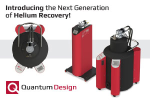 Quantum Design Introduces Its Next Generation of Helium Liquefiers and Recovery Systems