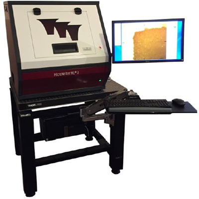 "Direct Write ""Maskless"" Lithography – Durham Magneto Optics MicroWriter ML®3"